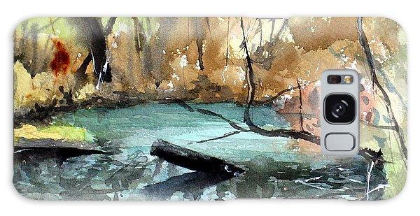 Brookfield Creek, Brisbane Australia Galaxy Case by Sof Georgiou