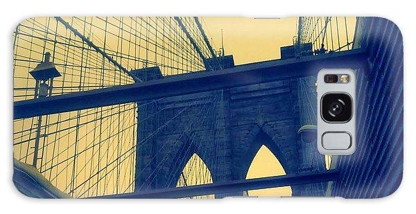 New York City's Famous Brooklyn Bridge Galaxy Case by Paulo Guimaraes