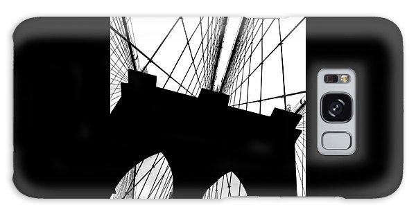 Brooklyn Bridge Galaxy Case - Brooklyn Bridge Architectural View by Az Jackson