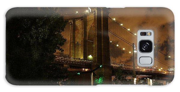 Brooklyn Bridge At Night Galaxy Case