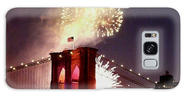 Brooklyn Bridge Celebration Galaxy Case