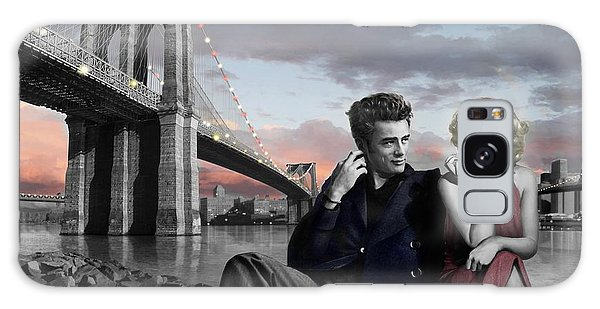 Brooklyn Bridge Galaxy Case by Chris Consani