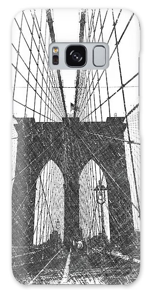 Dick Goodman Galaxy Case - Brooklyn Bridge by Dick Goodman