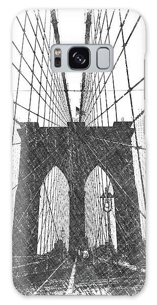 Dick Goodman Galaxy Case - Brooklyn Bridge by Dick Goodman