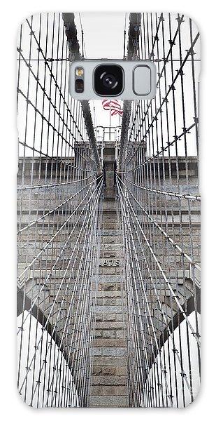 Brooklyn Bridge Flag Galaxy Case