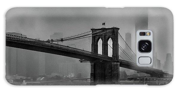 Brooklyn Bridge In A Storm 2 Galaxy Case