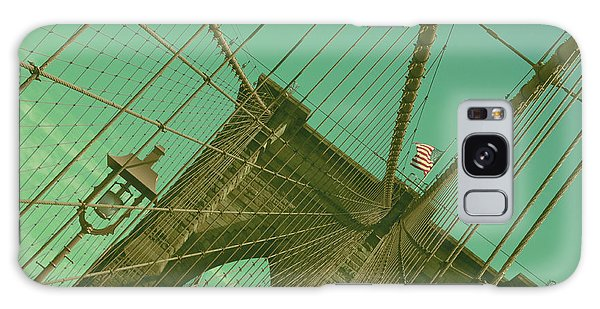 Brooklyn Bridge Galaxy Case by Louise Fahy