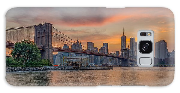 Brooklyn Bridge Summer Sunset Galaxy Case