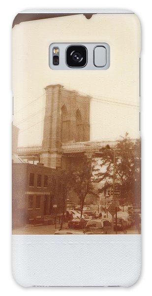 Brooklyn Bridge With Ip Px100 Film Galaxy Case