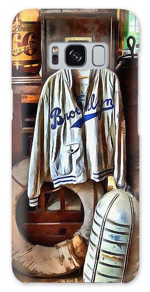 Brooklyn Dodgers Baseball  Galaxy Case by Thom Zehrfeld