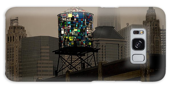 Galaxy Case featuring the photograph Brooklyn Water Tower by Chris Lord