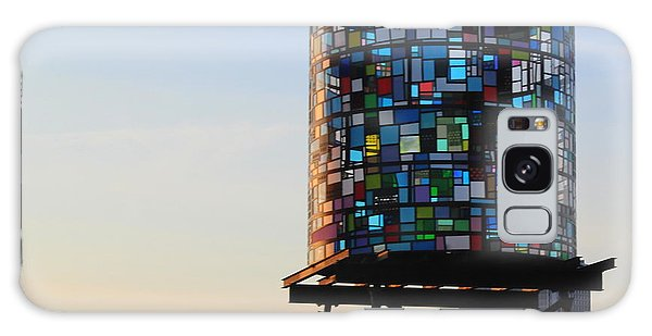Brooklyn's Glowing Glass Water Tower - Public Art Galaxy Case