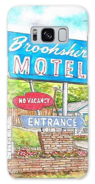 Brookshire Motel In Route 66, Tulsa, Oklahoma Galaxy Case
