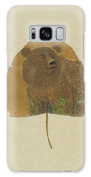 Brow Bear #2 Galaxy Case by Ralph Root
