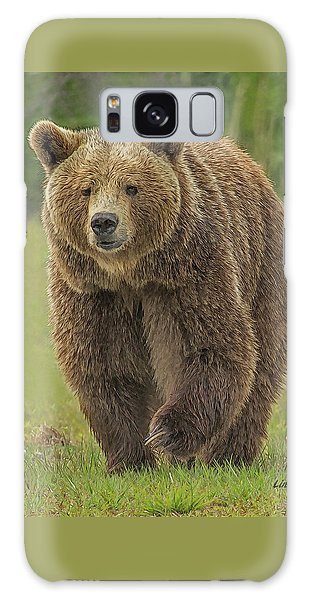 Brown Bear 1 Galaxy Case