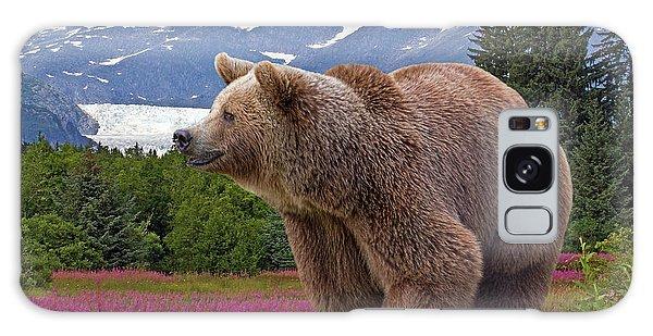 Brown Bear 2 Galaxy Case