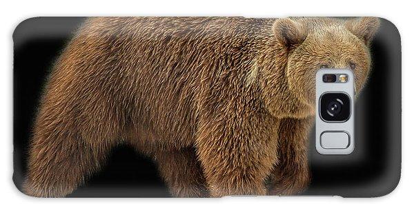 Brown Bear 5 Galaxy Case