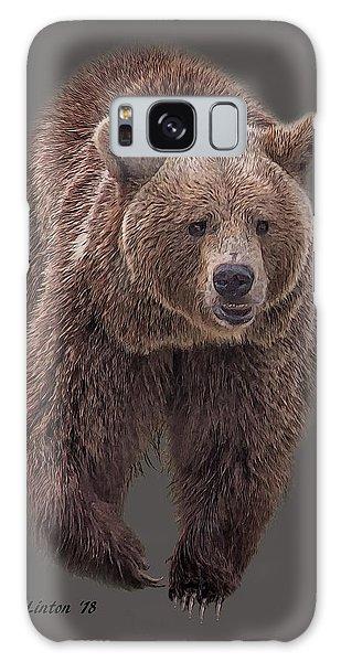 Brown Bear 8   Galaxy Case