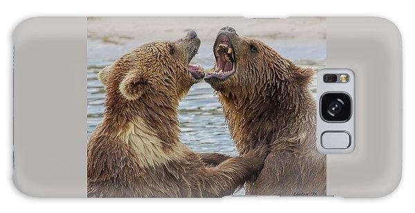 Brown Bears4 Galaxy Case