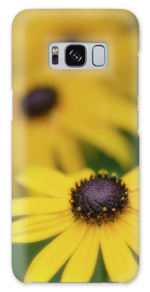Galaxy Case featuring the photograph Brown Eyed Susan by Bob Cournoyer
