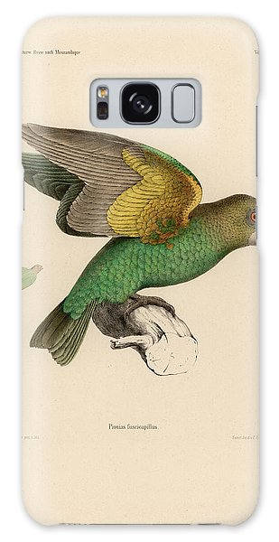 Brown-headed Parrot, Piocephalus Cryptoxanthus Galaxy Case