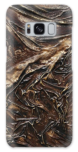Brown Lace Galaxy Case by Angela Stout