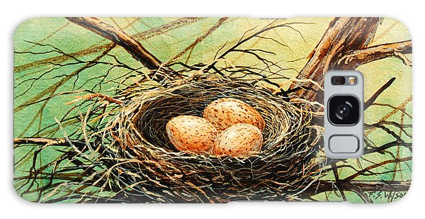Brown Speckled Eggs Galaxy Case