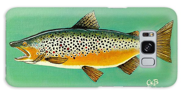 Brown Trout Galaxy Case