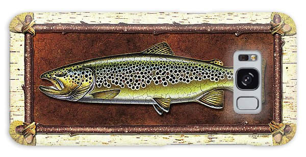 Brown Trout Lodge Galaxy Case
