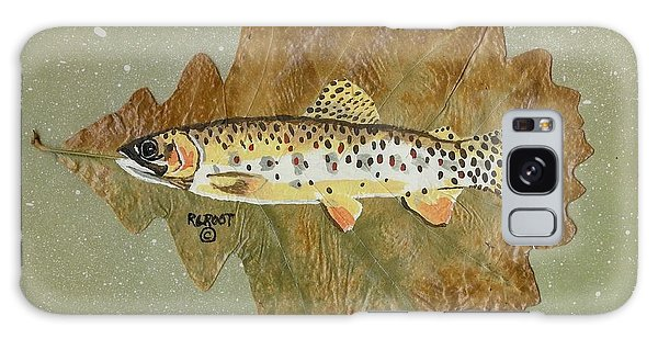 Brown Trout Galaxy Case by Ralph Root