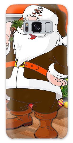 Santa Claus Galaxy Case - Browns Santa Claus by Joe Hamilton