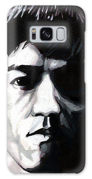 Bruce Lee Portrait Galaxy Case by Alban Dizdari