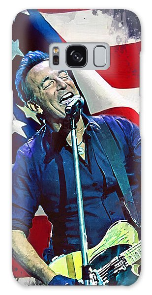 Bruce Springsteen Galaxy S8 Case - Bruce Springsteen by Afterdarkness