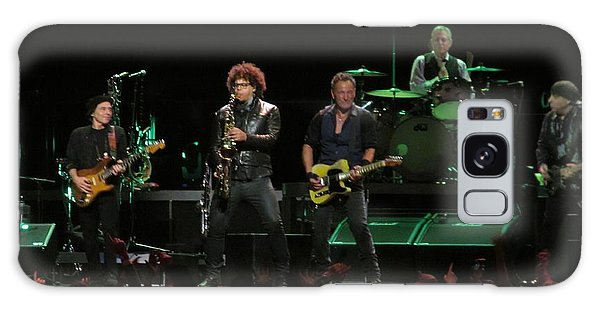 Bruce Springsteen And The E Street Band Galaxy Case by Melinda Saminski