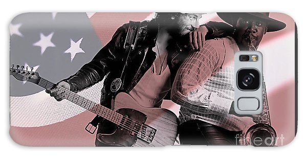 Bruce Springsteen Clarence Clemons Galaxy Case by Marvin Blaine