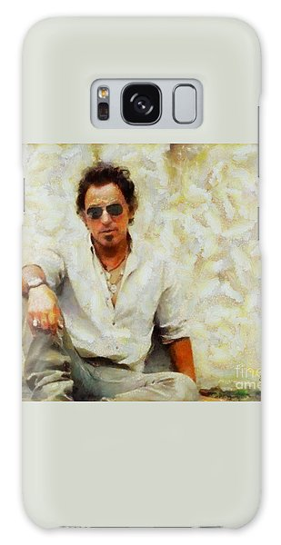 Bruce Springsteen Galaxy Case by Elizabeth Coats