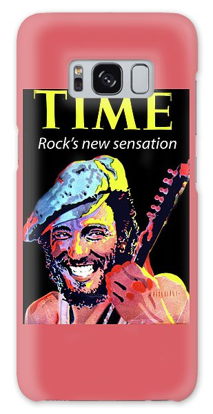Bruce Springsteen Time Magazine Cover 1980s Galaxy Case