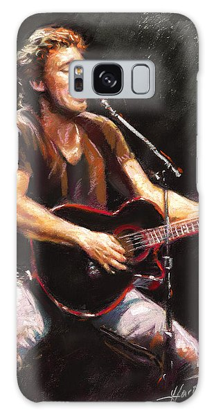 Bruce Springsteen Galaxy S8 Case - Bruce Springsteen  by Ylli Haruni