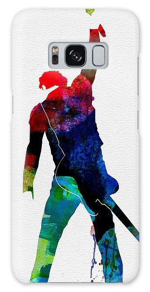 Bruce Springsteen Galaxy S8 Case - Bruce Watercolor by Naxart Studio