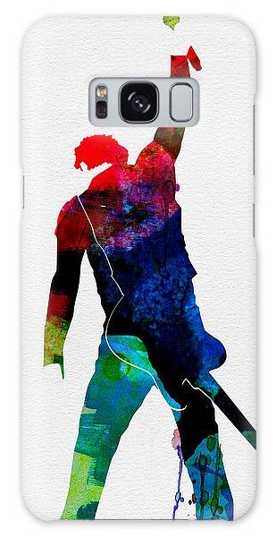 Musicians Galaxy Case - Bruce Watercolor by Naxart Studio