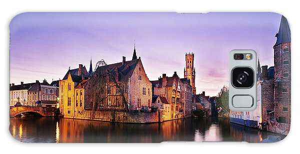 Galaxy Case featuring the photograph Bruges At Dusk by Barry O Carroll