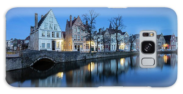 Magical Brugge Galaxy Case by JR Photography