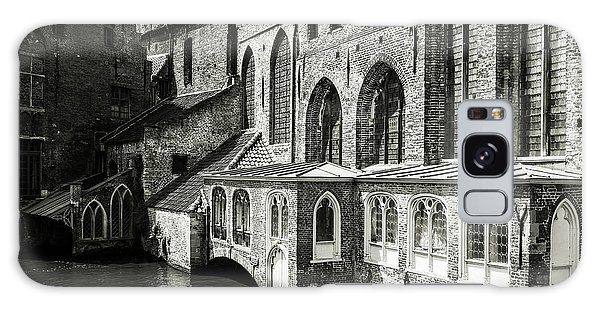Bruges Medieval Architecture Galaxy Case