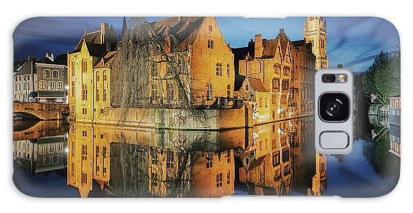 Brugge Galaxy Case by JR Photography
