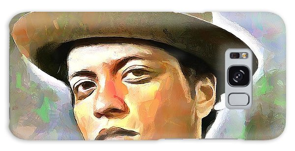 Bruno Mars Galaxy Case by Wayne Pascall