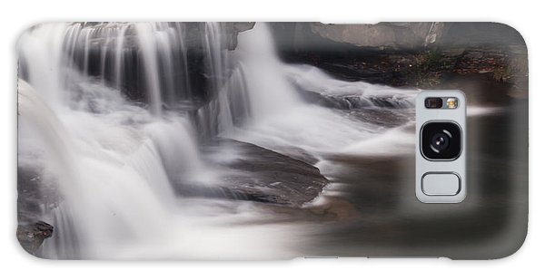 Brush Creek Falls Galaxy Case by Mel Petrey