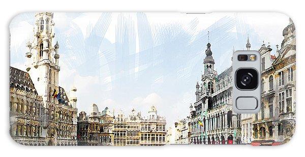 Brussels Grote Markt  Galaxy Case