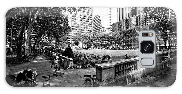 Bryant Park Angles Galaxy Case by John Rizzuto