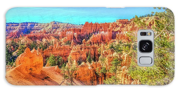 Galaxy Case featuring the photograph Bryce Canyon Artistry by John M Bailey