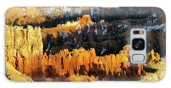 Bryce Canyon Hoodoos Evening Galaxy Case